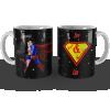 Caneca Dia dos Namorados Heróis Super Casados Personalizada com Nome