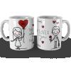Caneca Dia dos Namorados Love You Personalizada com Nome e Data