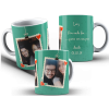 Caneca Dia dos Namorados com Foto Nome e Data