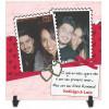 Azulejo Dia dos Namorados Personalizado com Foto e Nome - Modelo 06