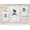 Dupla de Camiseta Dia dos Pais - Tal Pai, Tal Filho(a) - Game