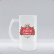 Caneca de Chopp Dia dos Pais Stella Artois Personalizada