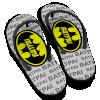 Chinelo Dia dos Pais Super Herói BatPai Modelo 01