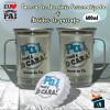 Kit Caneca Dia dos Pais em Aluminio + Abridor de Garrafa - Pai Você é o Cara