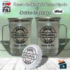 Kit Caneca Dia dos Pais em Aluminio + Abridor de Garrafa - Papai Original