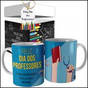 Caneca Dia dos Professores + Caixinha - Modelo 12