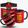 Caneca Sport Clube Recife 2018 Com Seu Nome e Número + Caixinha Personalizada