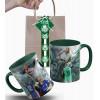 Caneca Palmeiras Goleiro Marcos  em Cerâmica com Embalagem Presenteável