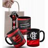 Caneca do Flamengo Uma Vez Flamengo Flamengo Até Morrer e Embalagem Presenteável