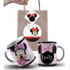 Caneca Minnie Personalizada com Nome e Embalagem Presenteável