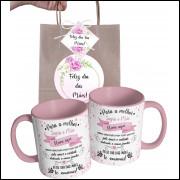 Caneca Dia das Mães para Sogra Personalizada com Nome e Embalagem Presenteável