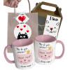 Caneca de Gato Mãe de Gato Gatinha é com Nome e Embalagem Presenteável