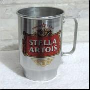 Caneca de Chopp em Alumínio Logomarca Stella Artois  - 500ml
