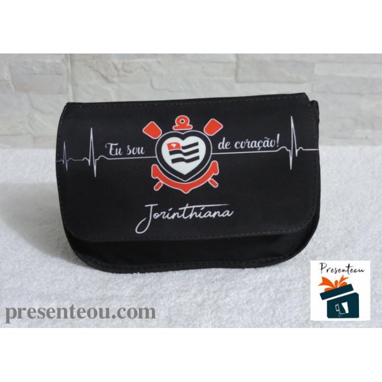 Necessaire e Estojo Personalizado Corinthians