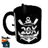 Caneca Corinthians - Hepta Campeão - 28x Campeão Paulista - Preta