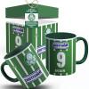 Caneca Palmeiras Camisa Evair 1993 com Seu Nome + Caixinha Personalizada