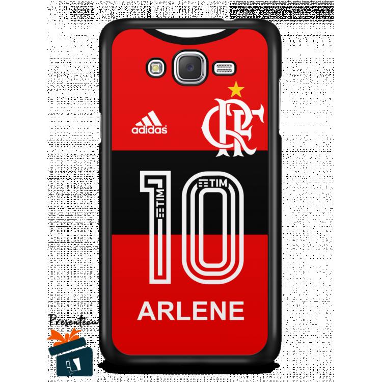 Capinha/Case Camisa Flamengo 2017/2018 nº01 - Personalizável