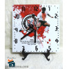 Relógio de Mesa - Corinthians Sangue Corinthiano - em Azulejo 20x20
