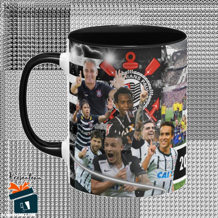 Caneca Corinthians - Hexa Campeão Brasileiro 2015