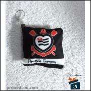 Chaveiro Corinthians Almofadinha Toda Poderosa Personalizado