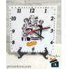 Relógio de Mesa - Turma do Chaves em Azulejo 20x20