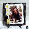 Porta Retrato com foto em Azulejo 20x20 Personalizado