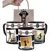 Caneca Corinthians personalizada com Três Fotos e Nome e Embalagem Presenteável
