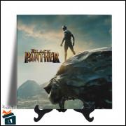 Quadro em Azulejo - Filme Pantera Negra - 20x20 - Modelo 02