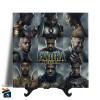 Quadro em Azulejo - Filme Pantera Negra - 20x20 - Modelo 03