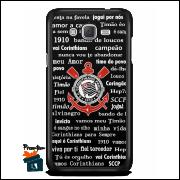 Capinha/Case Corinthians - Escudo e Palavras da Torcida