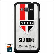 Capinha/Case São Paulo  Personalizada com Seu Nome - Branca