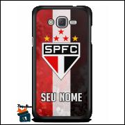 Capinha/Case São Paulo Personalizada com Seu Nome - Listras