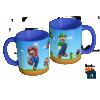 Caneca Mario Bros e Luigi - Caneca em cerâmica 325ml - Modelo 02