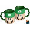 Caneca Mario Bros - Luigi  - Caneca em cerâmica 325ml - Modelo 04