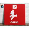Mario Bros Quadro em Azulejo Alto Brilho - 20x20  - Modelo 03
