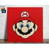 Mario Bros Quadro em Azulejo Alto Brilho - 20x20  - Modelo 04