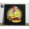 Mario Bros Quadro em Azulejo Alto Brilho - 20x20  - Modelo 06