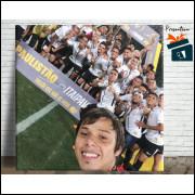 Quadro Corinthians Selfie do Romero no Allianz - em Azulejo 20x20