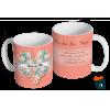 Caneca Dia das Mães Para a Mãe - Modelo 03 em Cerâmica 325ml