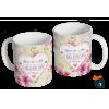 Caneca Dia das Mães Para a Mãe - Modelo 12 em Cerâmica 325ml