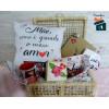 Baú Personalizado Dia das Mães com Três itens - Tamanho 40cm C