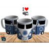 Caneca Kombi  Cruzeiro - Personalizada com Seu Nome - Cerâmica 325ml
