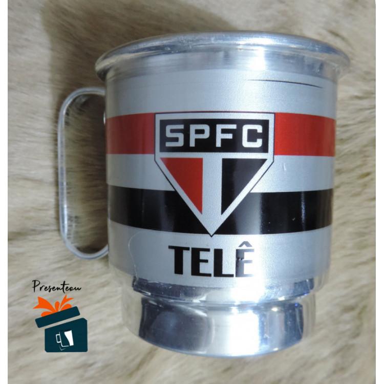 Caneca de Chopp São Paulo em Alumínio - Personalizada - 600ml