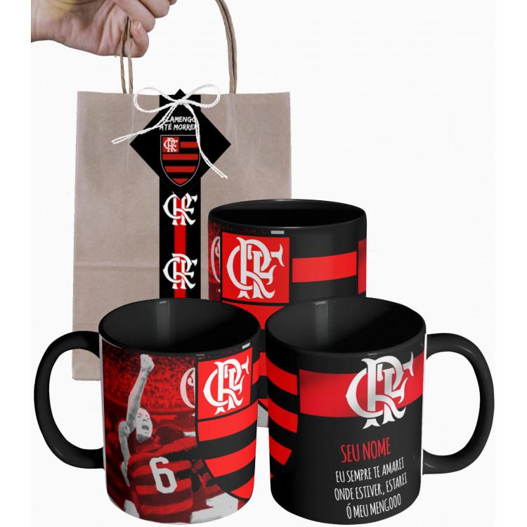 Caneca Flamengo Eu Sempre Te Amarei - Personalizada Cerâmica 325ml