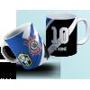 Caneca Corinthians/Brasil Escudo Copa do Mundo - Personalizada