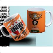 Caneca São Paulo Cartola FC - Personalizada com Seu Nome