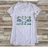 Camiseta ou Babylook Brasil Copa do Mundo 2018 Feminina Modelo 03