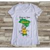 Camiseta ou Babylook Brasil Copa do Mundo- Mascote da Copa 2018 Feminina Modelo 10