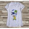 Camiseta ou Babylook Brasil Copa do Mundo- Mascote da Copa 2018 Feminina Modelo 12