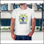 Camiseta Unissex Brasil Copa do Mundo 2018 Modelo 03